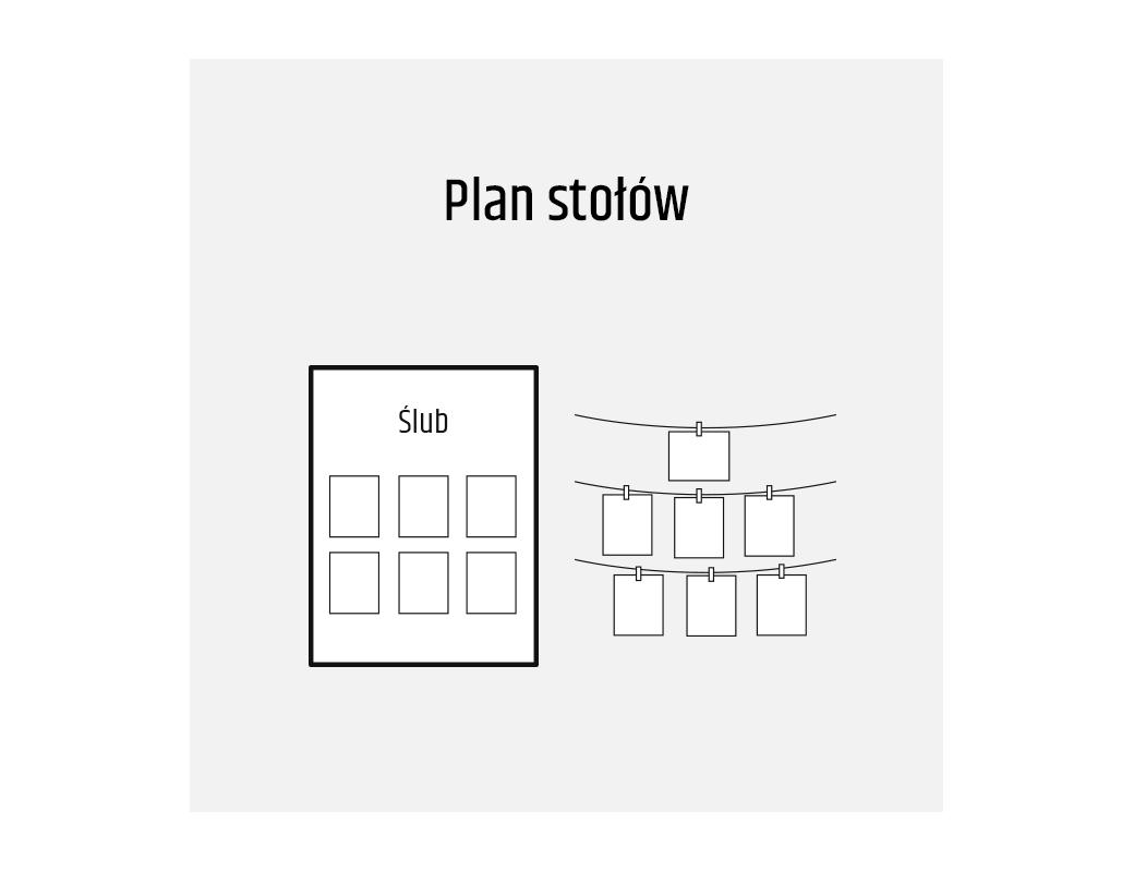 Plan stołów