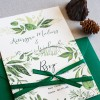 Wild Leaves - zaproszenie ślubne