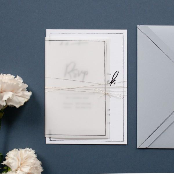 Frame - zaproszenie ślubne