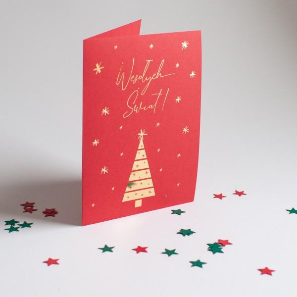 Wesyłych Świąt - Czerwień